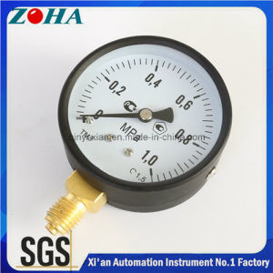 Economic Common Manometers 1 MPa 2.5 Inch Size Hot for Russia Market pictures & photos