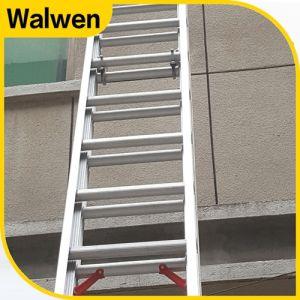 9.6 M 2 Section Aluminum Multi-Purpose Telescopic Combination Ladder pictures & photos