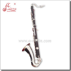 Bb Key 18 Keys Hard Rubber Bass Clarinet pictures & photos