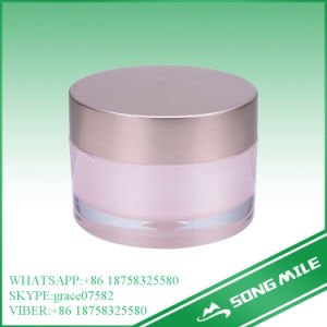 50g Wholesale Workable Price Acrylic Round Cream Jar for Cosmetic pictures & photos