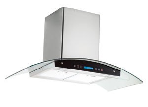 Cooker Hood with Finger Touch Switch CE Approval (TR03TDS 90A)