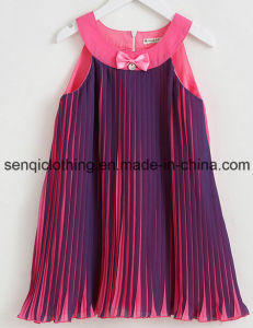 Fashion Girl Frock Dress in Children Garment with Dress Apparel pictures & photos