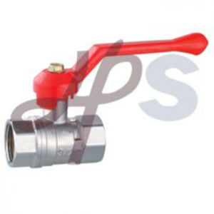 Brass Ball Valve with Zinc Alloy Handle pictures & photos