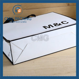 Paper Shopping Bag with Twisted Handle and Custom Logo (DM-GPBB-119) pictures & photos