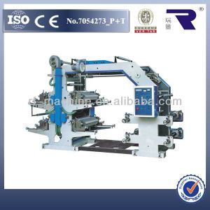 Good Quality 4 6 8 Color Flexo Printing Machine with Best Price pictures & photos