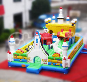 Airplane Inflatable Asmusement Park Outdoor Playground (CHOB133) pictures & photos