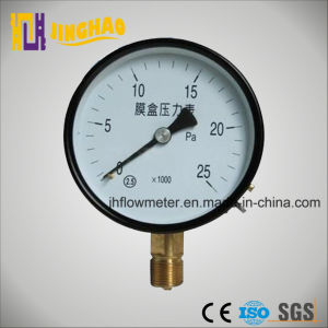 Capsule Belows Pressure Gauge with CE Certificate (JH-YL-TFE) pictures & photos