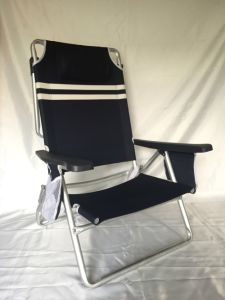 Folding Aluminum Pipe Beach Chair pictures & photos