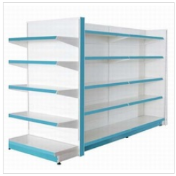 Metal Supermarket Shelf Metal Display Products