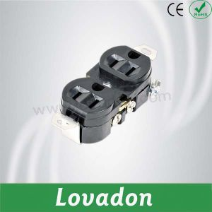 L515r Japanese Style Duplex Outlet pictures & photos