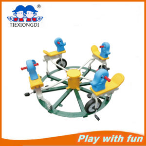 Safe Durable Cheap Outdoor Green Plastic Seesaw pictures & photos