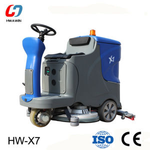 Hot Sale Ride on Type Floor Scrubber with Ce (HW-X7) pictures & photos