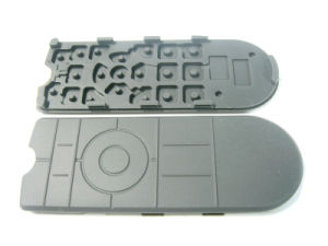 PU Coated Silicone Rubber Keypad for Remote Controller of Audio Equipment pictures & photos