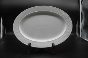 """Ceramic Dishes for Hotel Restaurant 12 """"DOT Stripe Fish Dish"""" pictures & photos"""