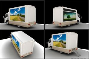 Competive Price Advertisement Truck with LED Board
