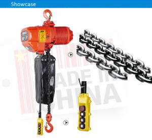 0.5 Ton Electric Chain Lift with Hook pictures & photos