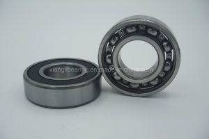 Mute Auto Deep Groove Ball Bearing 6205 with High-Precision pictures & photos