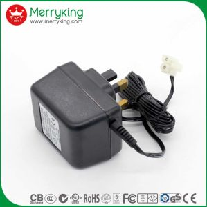 6-12W UK Plug Linear Power Adapters pictures & photos