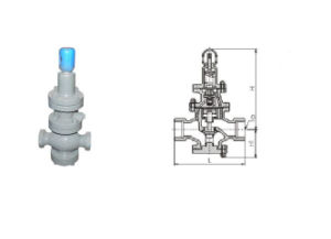 Y13h Internal Thread Pilot Piston Type Steam Pressure Reducing Valve pictures & photos