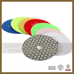 Professional Granite Marble Stone Diamond Dry Polishing Pad pictures & photos