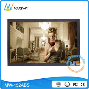 15.4 Inch LCD Advertising Player with 16: 10 Resolution 1680*1050 (MW-152ABS) pictures & photos
