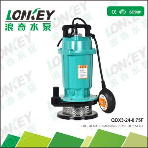 Full Head Submersible Pump, Qdx Aluminium Water Pump pictures & photos