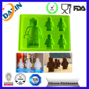 2016 Custom Robot Silicone Ice Tray Ice Maker pictures & photos