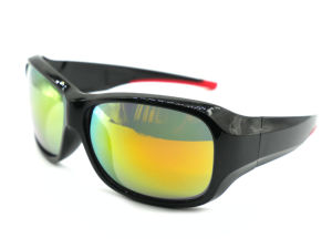 Designer Plastic Sport Sunglasses with Ce Certification pictures & photos