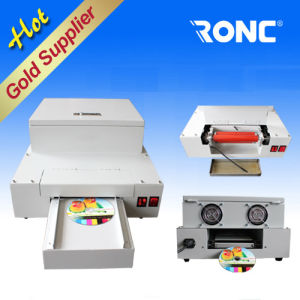 CD DVD Glossy Oil Coating Machine pictures & photos