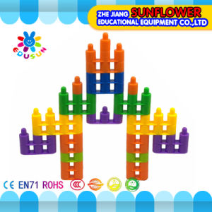 Building Blocks Toys Intellectual Toys, Colorful Plastic Desk Blocks Toy Desktop Toys