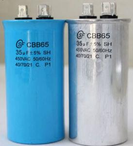 Cbb60 AC Motor Run Cable 450V 250V Film Capacitor pictures & photos