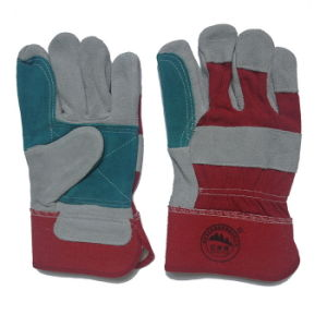 Wholesale Leather Safety Working Gloves pictures & photos