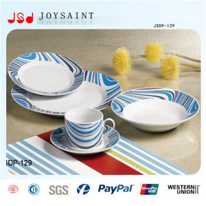 New Design 18PCS Ceramic Dinner Ware pictures & photos