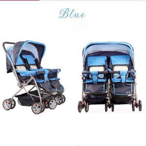 2016 Fashionable Design Baby Twin Stroller/ Twin Carriage pictures & photos