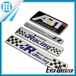 Customized 3D Aluminum Sticker Badge pictures & photos