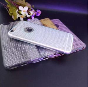 Hot Sale Luxury Crystal Diamond Transparent TPU Cell Phone Case