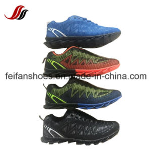 Newest Men Comfortable Flyknit Casual Sport Shoes Running Shoes pictures & photos