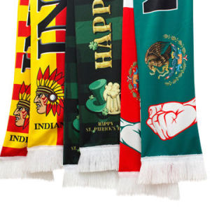 Standard Sublimation Sports Fan Scarf