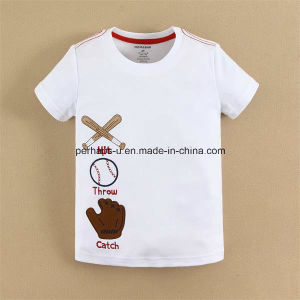 High Quality Baseball Baby Boys T Shirt Children Wear pictures & photos