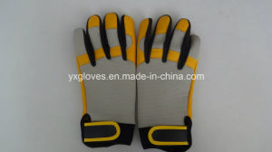 Work Glove-Cow Leather Glove-Safety Glove-Industrial Glove-Labor Glove-Machine Glove pictures & photos