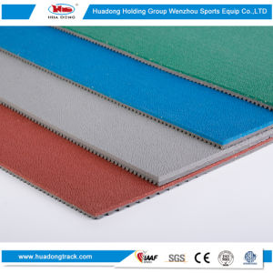 All Weather Outdoor Sports Rubber Floor Mat Volleyball Court Flooring pictures & photos