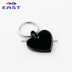 Fashion Design Heart Shape Metal Key Ring pictures & photos