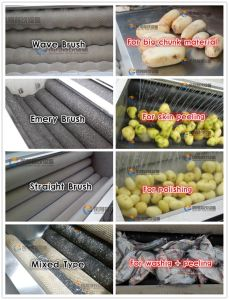 Industrial Automatic Fish Scale Removing Scaling Processing Machine pictures & photos