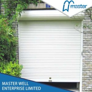 Safety Electric Control Roller Shutter Door for Garage pictures & photos