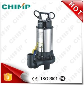 China Supplier Cutting Impeller Sewage Water Pumps (V1100D) pictures & photos