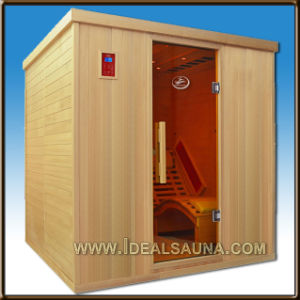 China 2014 new trend 2 person lay down infrared heater for Keys backyard sauna