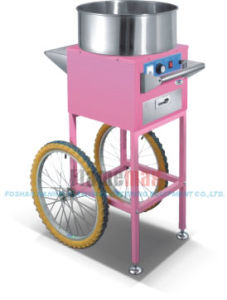 Christmas Cart as Gift Gas Cotton Candy Machine with Cart (CC-11GC) pictures & photos