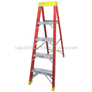 Fiberglass Step Ladder for Electricity pictures & photos