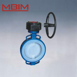 Lined Butterfly Valve (DN40-DN1200) pictures & photos