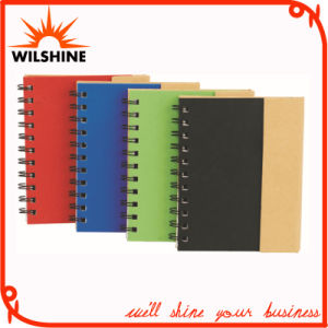 Hardcover Spiral Notebook with Paper Pen for Promotion (SNB137) pictures & photos